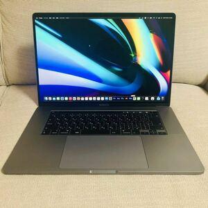 【美品】MacBook Pro 2019 16インチ Core i7 SSD 512GB メモリ 16GB スペースグレイ