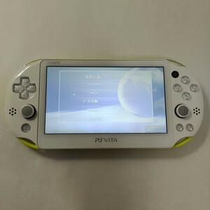 PSVITA 本体 ライムグリーン/ホワイト SONY PlayStation VITA PCH-2000