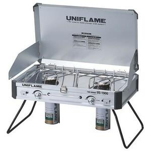 UNIFLAME ユニフレーム ツインバーナー US-1900 新品未開封、送料