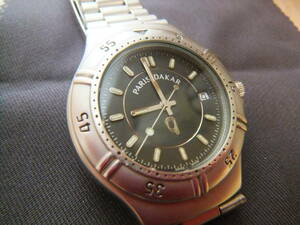 【パリダカール】腕時計 [シルバー ラリー記念 小型 クラシック  シンプル  ](中古)