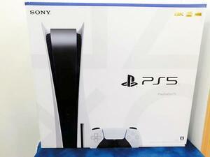 (新品未開封)SONY ソニー PS5 本体 PlayStation5 ディスクドライブ搭載モデル CFI-1000A01 プレイステーション5 (保証期間2023.12.27)