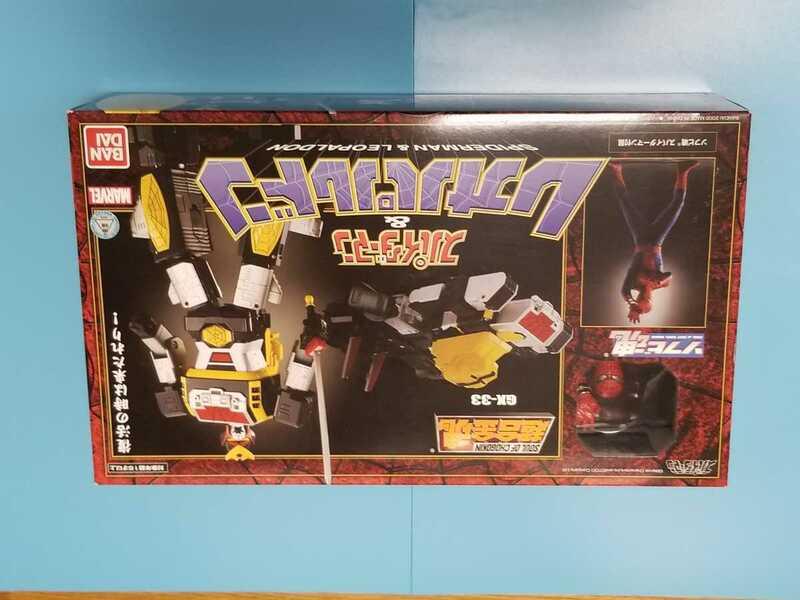 超合金魂 GX-33 レオパルドン&スパイダーマン