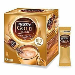 100P ネスカフェ ゴールドブレンドスティックコーヒー 100P 12384571