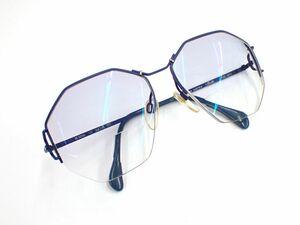 ▲眼鏡18 Sillrouette シルエット メガネフレーム▲オーストリア製/COL 4211/(M6056/30)/55□16-125/ブルー/消費税0円