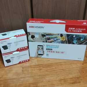 HIKVISION ハイクビジョン 200万画素 2MP wifiネットワーク防犯カメラ2台&NVR録画機セット 国際規格onvif対応 中国版■送料無料・即決