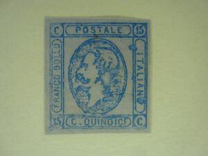 1862年 イタリア一番切手 イタリア最初期手彫切手