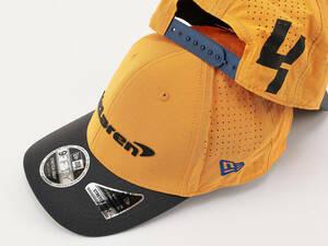 【Mclaren F1 Team】NEW ERA 9FORTY Cap「ORANGE」 ★マクラーレン ニューエラ キャップ 帽子 オレンジ