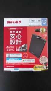BUFFALO ポータブルハードディスク 1.0TB テレビ録画にも 全国送料無料