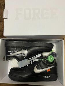 Nike off-white Moma Air Force 1 Black