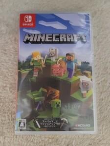 【新品未開封】Minecraft マインクラフト Nintendo Switch ニンテンドースイッチ 任天堂