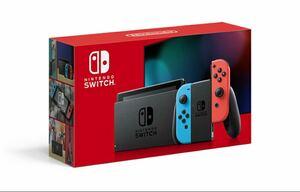 [限定割引・新品未開封] Nintendo Switch (ニンテンドースイッチ) ネオンブルー/ネオンレッド