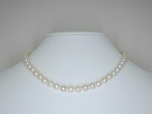 本真珠ネックレス (湖水)6.0~7.0㎜☆高級☆新品