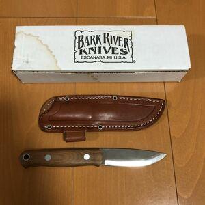 【美品】BARK RIVER バークリバー ブッシュクラフター ナイフ サバイバル キャンプ CPM3V