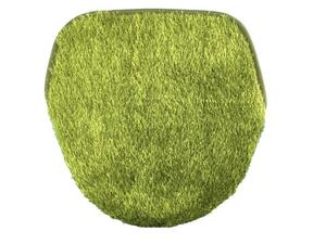 R4295■訳あり トイレ蓋カバー 特殊型 芝生 グラスグリーン