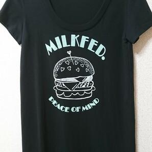 MILK FED ミルクフェド Tシャツワンピース ロング丈Tシャツ Sサイズ