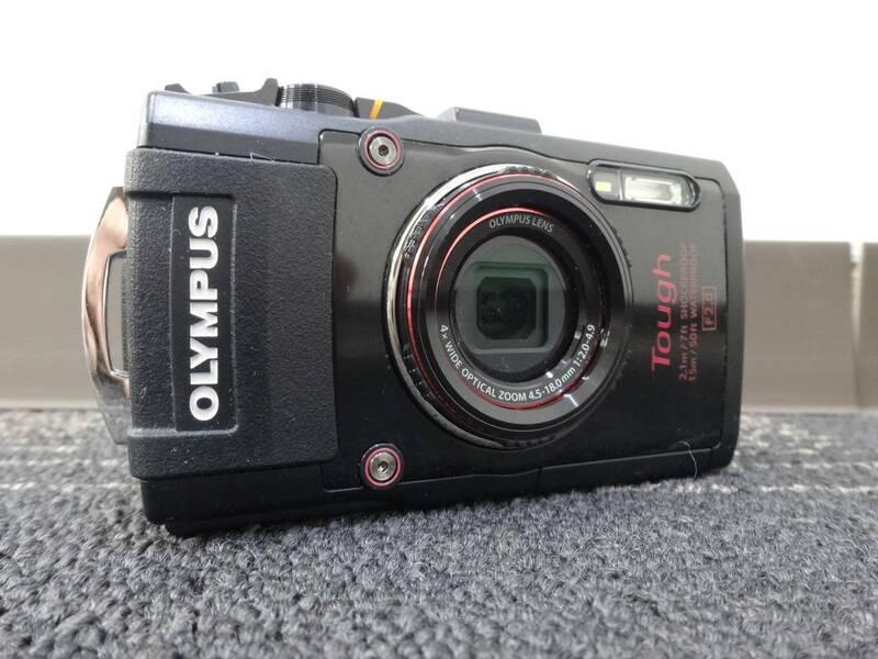 【必見】 OLYMPUS オリンパス TG-4 STYLUS スタイラス Tough タフ ブラック Black 防水 デジタル カメラ