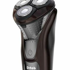 シェーバー メンズ 電気シェーバー ひげそり 3枚刃 回転式 USB充電式 IPX7防水