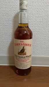 フェイマスグラウス 1980年代中頃流通ボトル(松下電器貿易株式会社時代)