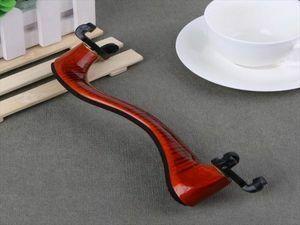 バイオリン 肩当て 調節可能 木製 楽器アクセサリー