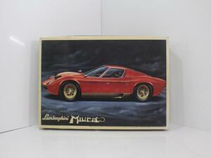 10114 Lamborghini Miura Lamborghini Miura 1/16 FUJIMI plastic model