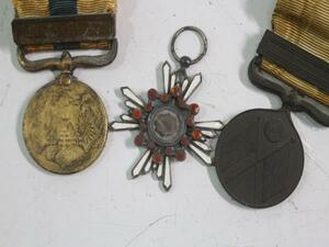 K9501 Japan army order badge . four etc. .. chapter? other details unknown Junk
