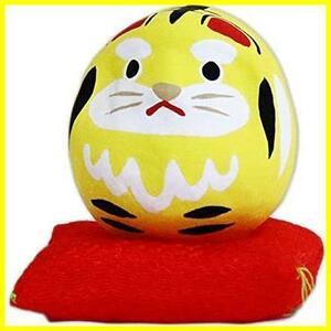 寅 豆だるま 日本製 縁起物 十二支 虎 タイガー 白河だるま 和柄 和風 置物 家内安全 商売繁盛 長寿 父の日 母の日 ギフト プレゼント