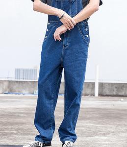 夏新作上質メンズ サロペットジーンズ デニムパンツ オーバーオール つなぎ オールインワン サスペンダーズボン ペインター作業服 S-3XL