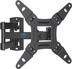【新品未使用】PERLESMITH テレビ壁掛け金具 ディスプレイアーム 小型 軽量 13~42型対応 耐荷重20kg 上下・左右・前後調節可