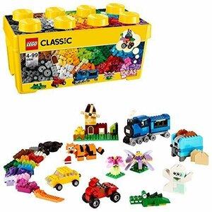 【新品未使用】レゴ (LEGO) クラシック 黄色のアイデアボックス プラス 10696 35色のブロックセット 4歳以上の全ての男の子女の子