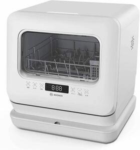 【ジャンク 付属品有り 白. モーソー 食器洗い乾燥機 食洗機 2021年製