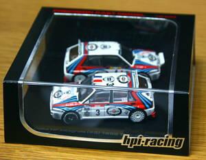 ■絶版品■【hpi-racing】1/43 ランチア デルタ 1992 モンテカルロ&ツールドコルス セット
