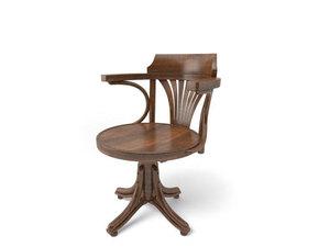 【世界の名作椅子】トンTON ベントウッドレボルビングチェア No523 コントール オフィスチェア / クラシック / トーネットTHONET