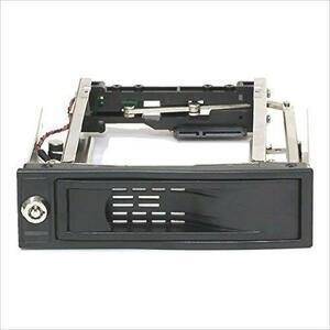 ◆在庫限り◆ Groovy ハードディスク簡単着脱マウンタ [ SATA接続3.5インチHDD / 5.25インチベイ専用 ] HDD-DOOR3.5BK ◆即決◆