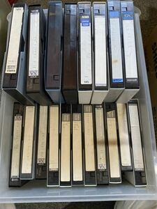 VHSビデオテープ 30本