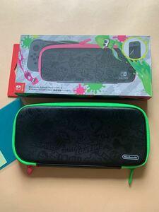 Nintendo Switch キャリングケース スプラトゥーン2エディション スイッチケース