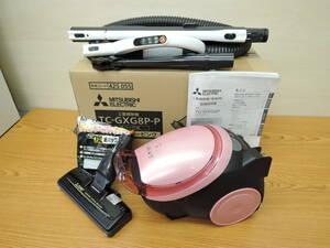 三菱電機◆掃除機 紙パック式 19年製 シルキーピンク◆TC-GXG8P-P