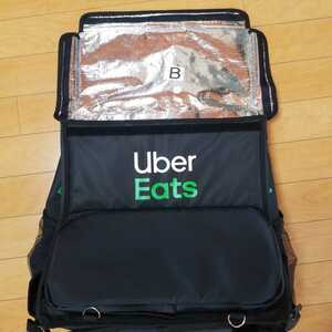 Uber Eats Delivery Bag with Logo ウーバーイーツ 配達バッグ リュック