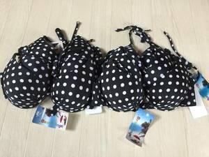 新品 レディース水着 ブラ 6枚セット 9M ブラック ファッション水着 ビキニ