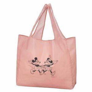 【新品未使用】ミッキー ミニー ディズニー みんなのキャラクター ビッグエコバッグ レジかごバック レジカゴ 大きめ トートバッグ