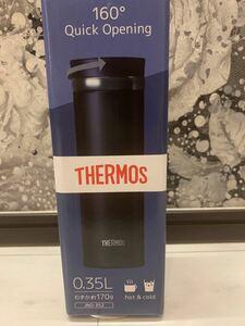 NO:5 サーモス 水筒 真空断熱ケータイマグ 350ml ブラック 黒