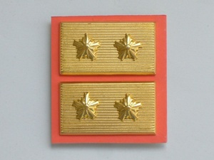 襟章 【 警察 階級章 警視長 警視庁型 】 未使用品