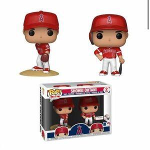 大谷翔平 FUNKO POP! MLB ロサンゼルス・エンゼルス Fanatics限定 ビジター・ユニフォーム二刀流 2パックフィギュア