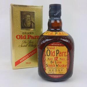 Grand Old Parr 12年 750ml 未開栓 箱付き グランドオールドパー ブレンデッド スコッチ ウイスキー
