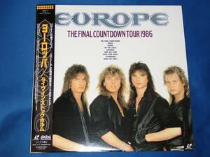 「EUROPE ヨーロッパ ライヴ・イン・ストックホルム」中古LD