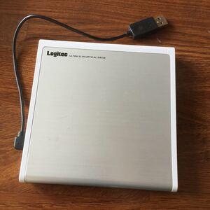 LOGITEC ウルトラ オプティカル ドライブ DVD マルチレコーダー 中古