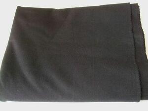 布地ス04■130×200cm■黒色ストレッチニット生地厚手スムース