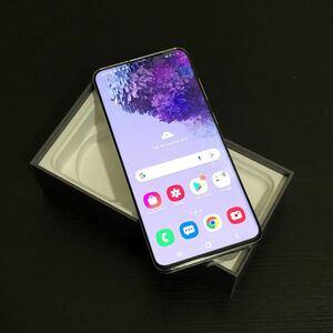 新品同様 Samsung Galaxy S20 128gb 海外版SIMロック(Verizon) 即発送可能 アメリカ版