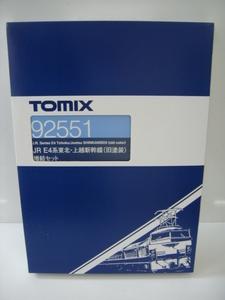 TOMIX 92551 JR E4系 東北 ・ 上越新幹線 旧塗装 増結セット Nゲージ
