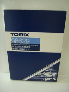 TOMIX 98629 JR 209 2100系 通勤電車 房総色 ・ 4両編成 セット 4両セット Nゲージ