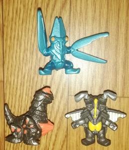 ユタカ ポケットヒーロー パワードゼットン パワードバルタン星人 ドレンゲラン ウルトラマン 怪獣 ミニフィギュア